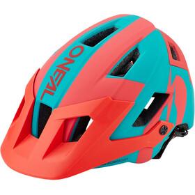 O'Neal Defender 2.0 Helm sliver teal/red